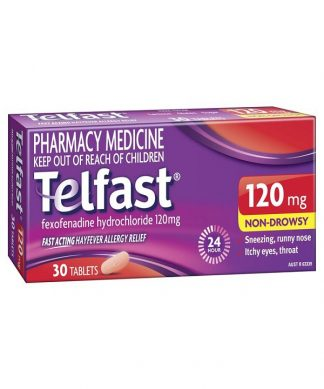 Telfast Hayfever Tablet 120Mg 30 Pack