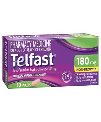 Telfast Hayfever Tablet 180Mg 10 Pack