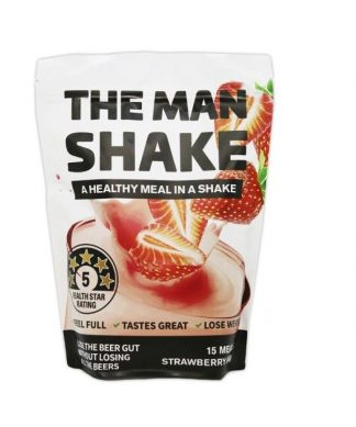 The Man Shake Strawberry 840g