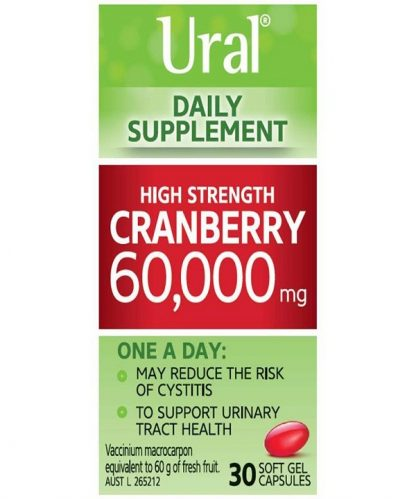 Ural Daily Cranberry 30 Capsules
