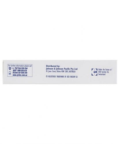 Zyrtec Tablet 10Mg 10 Pack