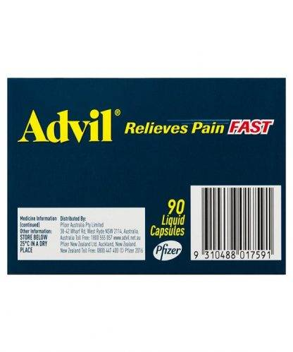 Advil Caplet Liquid 90 Pack