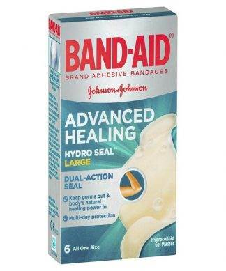 Bandaid Advance Heal Large 6 Pack