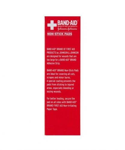 Bandaid First Aid Non-Stick Pads 8 Pack