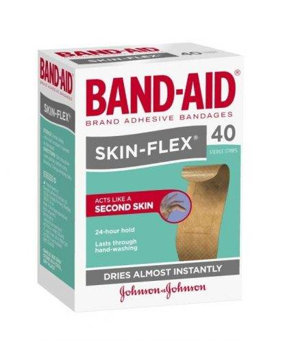 Bandaid Skinflex Strips Regular 40 Pack