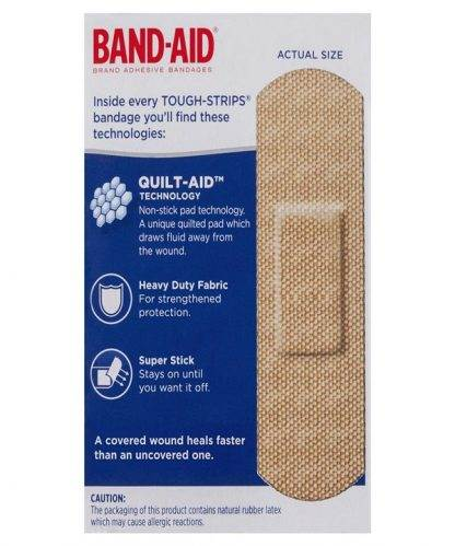 Bandaid Tough Strips Regular 20 Pack