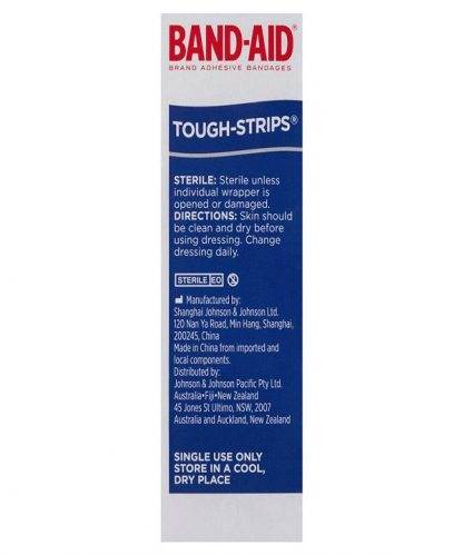 Bandaid Tough Strips Regular 20 Pack-3