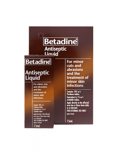 Betadine Antiseptic Liquid 15Ml