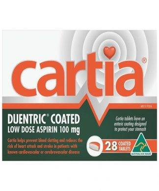 Cartia Tablet 100Mg 28 Pack