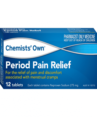 Chemist Own Period Pain 12 Tablets