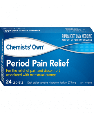 Chemist Own Period Pain 24 Tablets