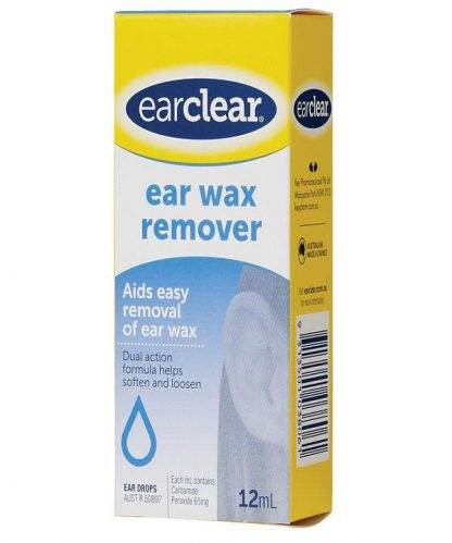 Ear Clear Wax Removal 12ML