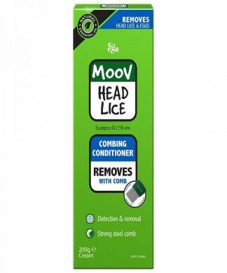 Ego Moov Head Lice Comb Conditioner 200ML