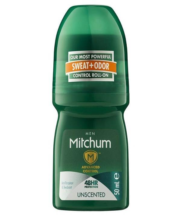 Mitchum Roll On Mens Unscented 50ML
