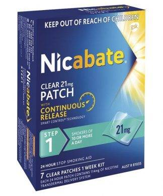 Nicabate Patches Cq Clear 21Mg 7 Pack