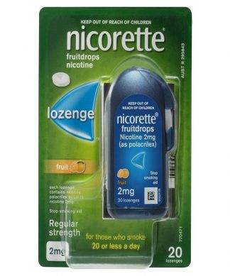 Nicorette Cooldrops Fresh Fruit Lozenge 2Mg 20 Pack