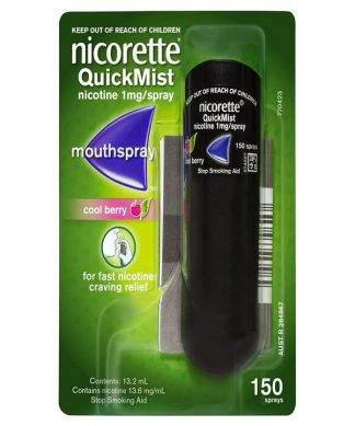 Nicorette Quick Mist Berry Single 13.2ML
