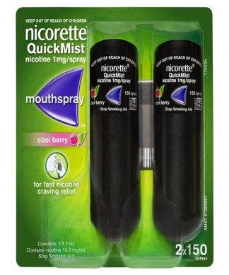 Nicorette Quickmist Berry Duo 13.2ML X2