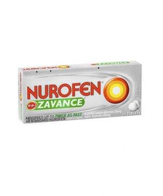 Nurofen Zavance Tablet 24 Pack