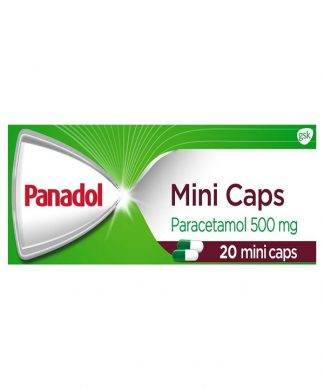 Panadol Mini Caps 20 Pack