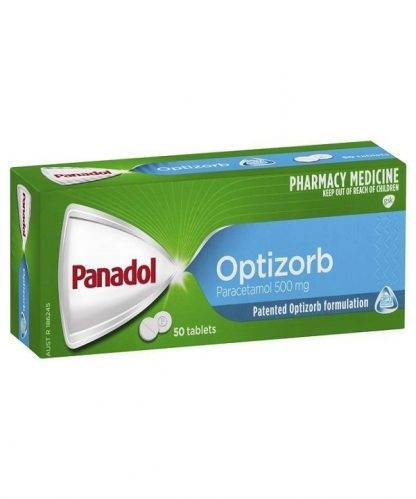 Panadol Optizorb Tablet 50 Pack
