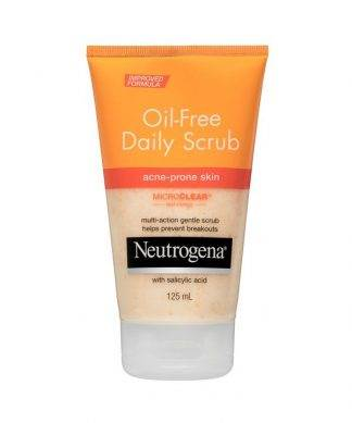 Neutrogena Oil-Free Acne Daily Scrub 125ML | Chemist Open Now | Pharmacy Open Now
