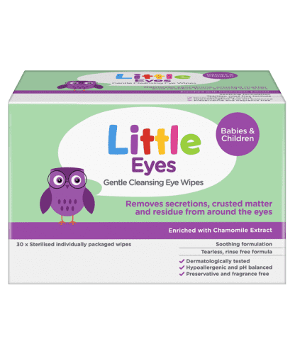 Little Eyes Cleansing Wipes 30 Wipes | Chemistworks | Pharmacy Near Me | Chemist Near Me