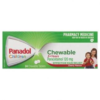 Panadol Childrens Chewable Tablets 24 Pack