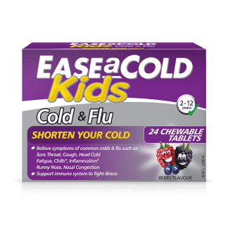 Ease A Cold, Cold & Flu Relief Kids 24 Chewable Tablets