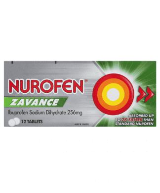 Nurofen Zavance 12 Tablets
