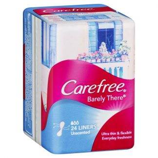 Carefree Barely There 24 Liners