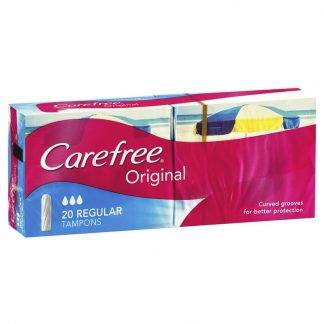 Carefree Regular 20 Tampons