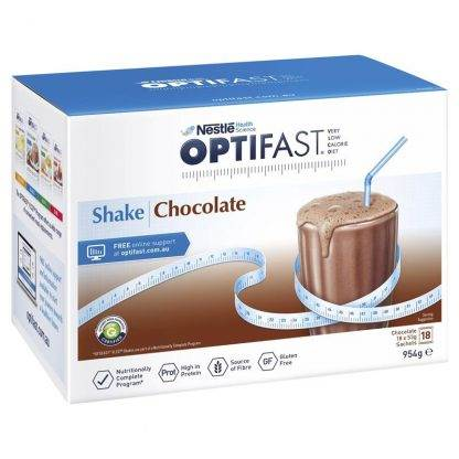 Optifast Vlcd Chocolate 54G 18 Sachets
