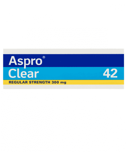 Aspro Clear 42 Effervescent Tablets