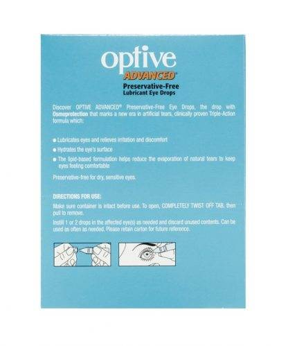 Optive Advance 0.4ML 30 Vials