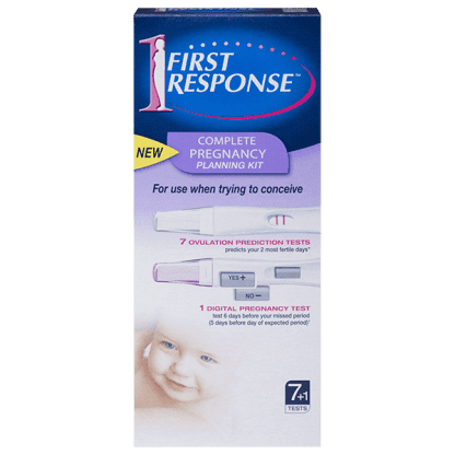 First Response Ovulation Kit 7+1 Tests