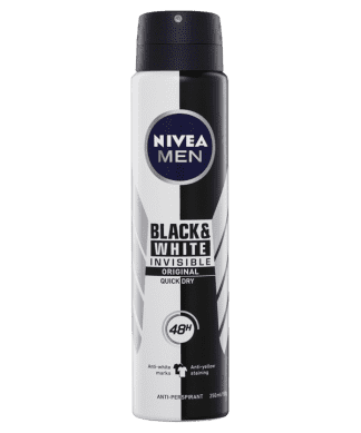 Nivea Deodorant Invisible Black & White 250ML | Pharmacy Open Now | Chemist Near Me