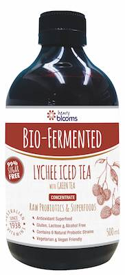 Henry Blooms Bio-Fermented Lychee Iced Tea with Green Tea 500ML