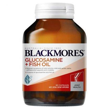 Blackmores Glucosamine + Fish Oil 90 Capsules