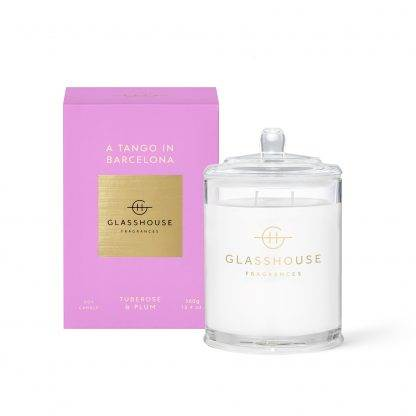Glasshouse Candle Tango In Barcelona 380G