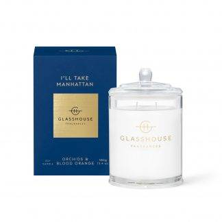 Glasshouse Candle I'll Take Manhattan 380G