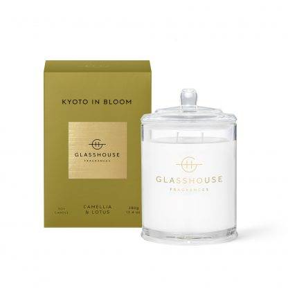 Glasshouse Candle Kyoto In Bloom 380G