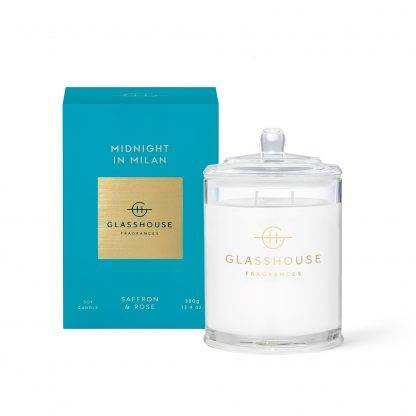 Glasshouse Candle Midnight In Milan 380G