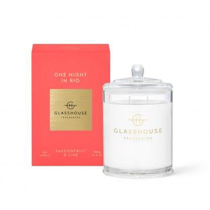 Glasshouse Candle One Night In Rio 380G