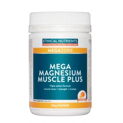 Ethical Nutrients Mega Magensium Muscle Plus Powder 135G