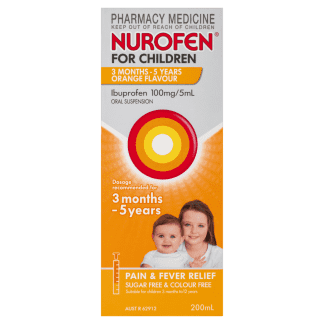 Nurofen For Children 3 Months - 5 Years Orange 200ML