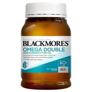 Blackmores Omega Daily Fish Oil Double Strength 200 Capsules