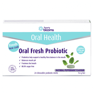 Henry Blooms Oral Fresh Probiotic 24 Chewables