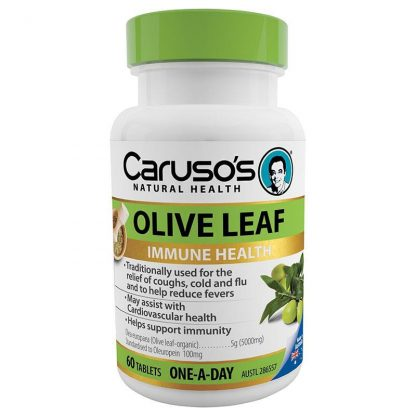 Caruso's Olive Leaf Immune Health 60 Tabs