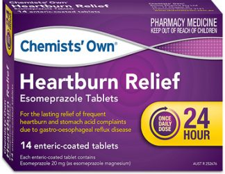 Chemists' Own Heartburn Relief 20MG 14 Tablets